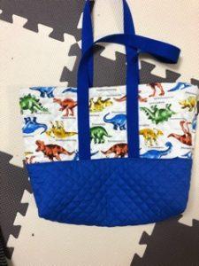 マチがあっても大丈夫!型紙なしでどんなサイズのレッスンバッグでも作れます。