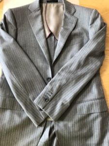 スーツのリメイク