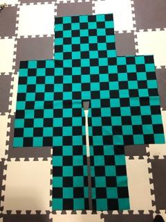 炭治郎羽織型紙